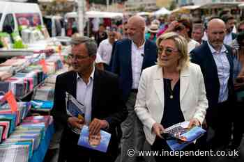 Riviera campaign is key to hopes of France's far-right party