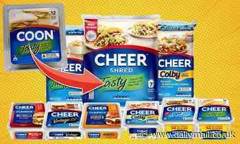 CHEER replaces COON cheese in Australians supermarkets in major rebranding