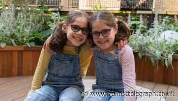 Twin girls born with cataracts 'doing brilliantly' after Gosh treatment