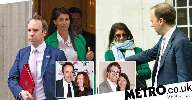 Matt Hancock 'caught having affair with married aide as CCTV shows steamy kiss'