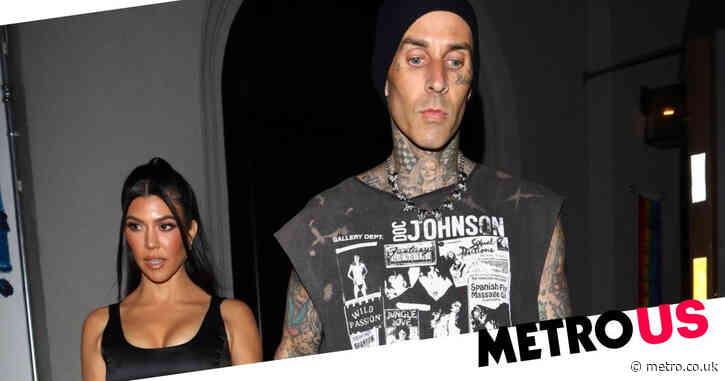 Kourtney Kardashian and Travis Barker take break from steamy PDA sessions for romantic date night in LA