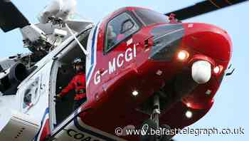 Rescue operation after fishing vessel incident