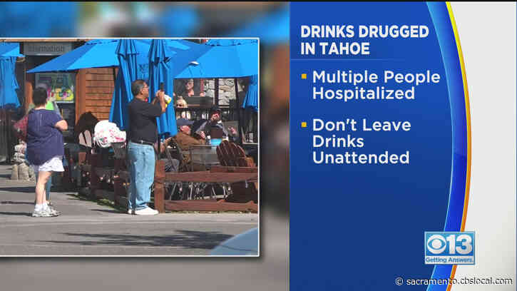 Drugged Drinks Leaves Multiple People Hospitalized In South Lake Tahoe, Police Say