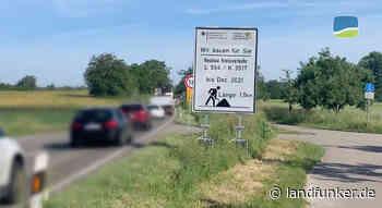 UPGRADE | Kreisel-Baustelle bei Unteröwisheim noch bis Dezember ein Nadelöhr für Kraichtal - Landfunker