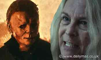 Jamie Lee Curtis face-to-face with Michael Myers in Halloween Kills trailer 43 years after original