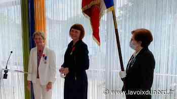 Saint-Laurent-Blangy : Hélène Szulc a reçu la Croix de Chevalier de la Légion d'Honneur - La Voix du Nord