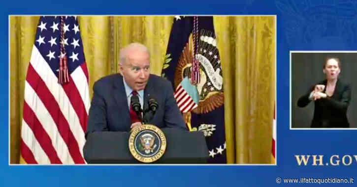 """Biden: """"Cosa dico agli imprenditori che dicono di non trovare lavoratori? Pagateli di più"""" – Video"""