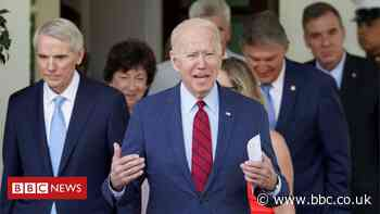 Biden backs $1.2tn infrastructure bill but places big condition