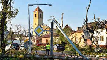 Tschechien: Spur der Verwüstung nach Tornado