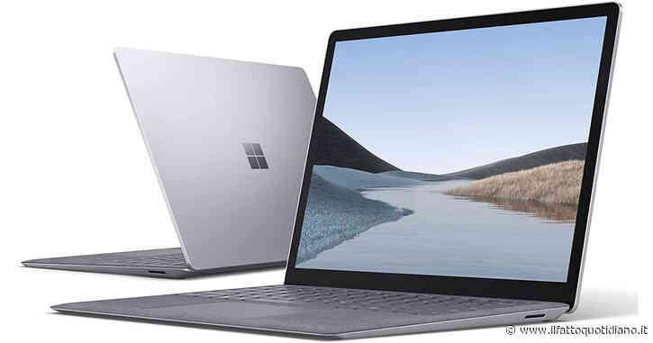 Microsoft Surface Laptop 3, notebook ultra compatto ai migliori prezzi del web