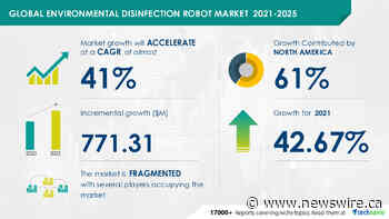 Environmental Disinfection Robot Market in Industrial Machinery Sector:  Incremental Growth is Expected to be Worth $ 771.31 Million by 2025
