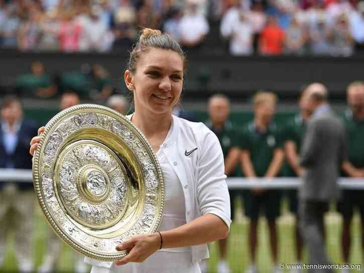 Simona Halep out of Wimbledon with calf injury