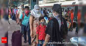 Coronavirus live updates: India's positivity rate declines to 3% - Times of India