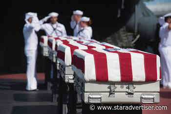 Remains from the USS Oklahoma that could not be ID'd will be reinterred at Punchbowl