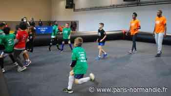 Val-de-Reuil: une journée de l'olympisme avec Muriel Hurtis et Émilie Gomis - Paris-Normandie