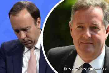 Piers Morgan takes aim at Matt Hancock following 'affair' scandal