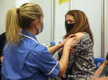 Covid: Almost half of Brighton has had both vaccine doses
