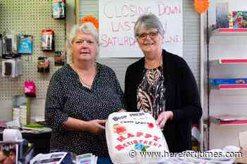 Popular town shopkeeper retires after 22 years behind the counter