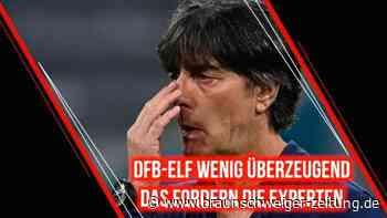 DFB-Elf wackelt: Das fordern die Experten von Löw