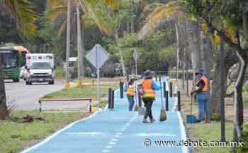 ¡Todo listo! Mañana inaugurarán la ciclovía Sábalo - Cerritos en Mazatlán - Debate