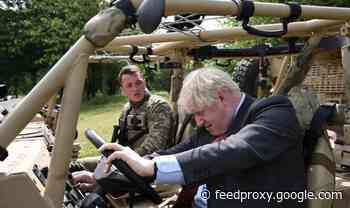 Boris Johnson: It was entirely right for Navy to be in Ukrainian waters