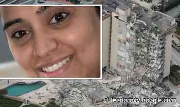 Miami building collapse horror: British mum and baby among 99 missing - at least one dead
