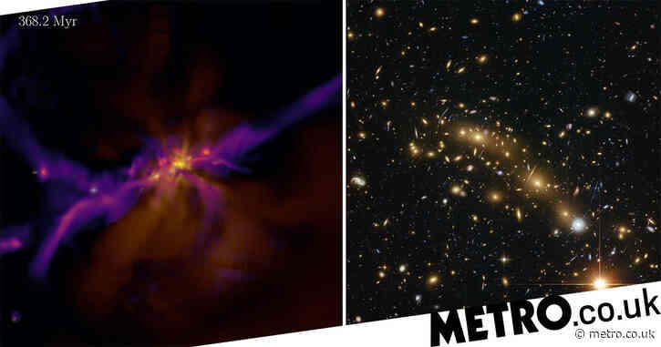 Time-travelling physicists studying 'cosmic dawn' and the birth of galaxies