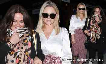 Emily Atack and her mum enjoy a night out in Kentish Town to watch Ricky Gervais