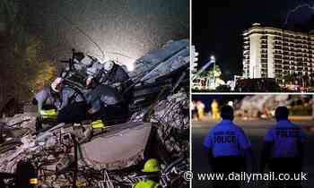 Three more bodies are pulled from the rubble of 12-floor Miami condo tower taking death toll to four