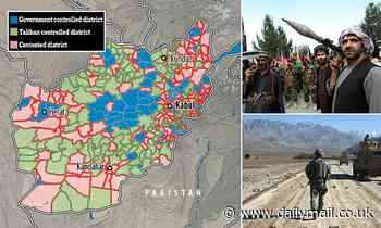 Taliban recapture vast swathes of Afghanistan as US and NATO withdraw