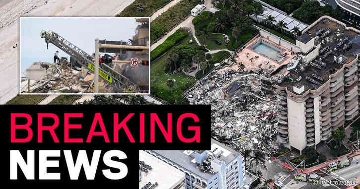 Nearly 160 missing and four confirmed dead after Miami Beach building collapse