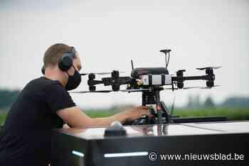 """Onkruid wieden was nooit zo eenvoudig dankzij drone: """"Ook voor <I>keuterboerkes</I> interessant"""""""