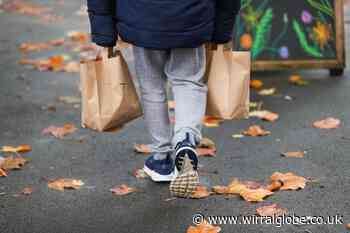 A quarter of schoolkids in Wirral eligible for free meals - Wirral Globe