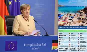 EU civil war over Angela Merkel's holiday quarantine plans