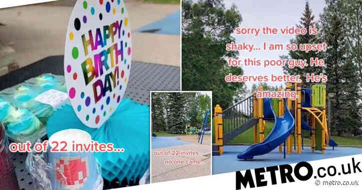 Mum shares heartbreak after no one shows up to son's sixth birthday party