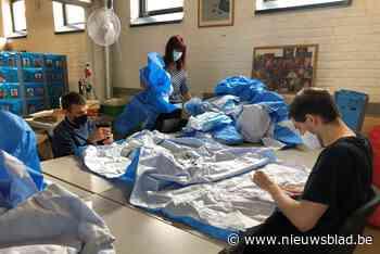 Van sterilisatiedoek tot bloempot: sociaal project geeft gebruikt materiaal uit ziekenhuizen tweede leven