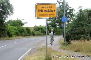 Ausbau der Dessauer Straße in Haldensleben - mit mehr Sicherheit für Radfahrer - Volksstimme