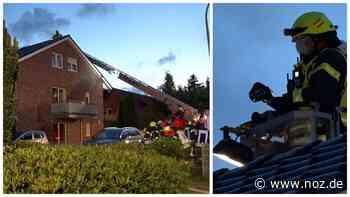 Video: Ein Verletzter nach Brand in einem Wohnhaus in Twist - noz.de - Neue Osnabrücker Zeitung