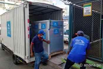 EsSalud Lambayeque recibe planta de oxígeno para el Hospital I Chepén - Agencia Andina