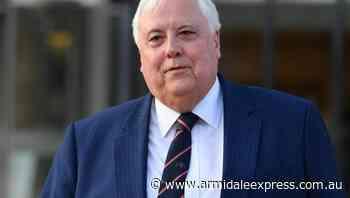 Billionaire Palmer to repay $100m QNI loan - Armidale Express
