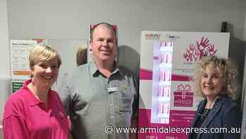 A Share the Dignity Pinkbox is now at the Armidale War Memorial Library - Armidale Express