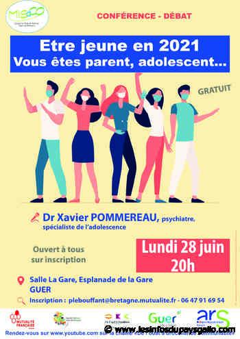 Guer-Questembert. Etre jeune en 2021: conférence débat gratuite - Les Infos du Pays Gallo