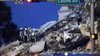 Australians feared trapped in Miami rubble - Armidale Express