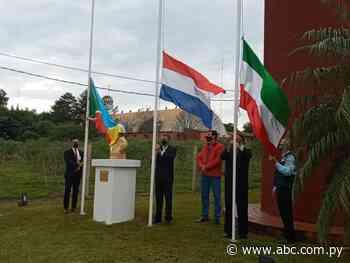 Con sencillo acto recordaron aniversario 66 del distrito de Capitán Meza - Nacionales - ABC Color