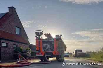 Inboedel tuinhuis in vlammen op na brand in De Mokker - Het Nieuwsblad