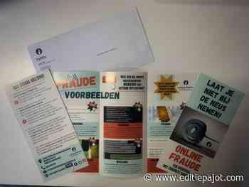 Politie Geraardsbergen/Lierde verdeelt 20 000 folders in de strijd tegen 'Online fraude'! - Editiepajot