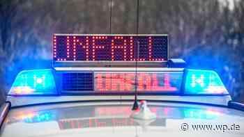 Unfall in Olsberg: Betrunkener Fahrer geht auf Polizei los - Westfalenpost