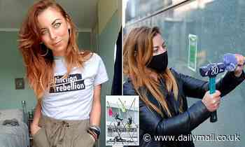 Privately-educated model is mastermind of Extinction Rebellion's attack on the Press