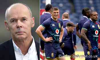 SIR CLIVE WOODWARD: I'm excited to watch British and Irish Lions... but real tour starts next week