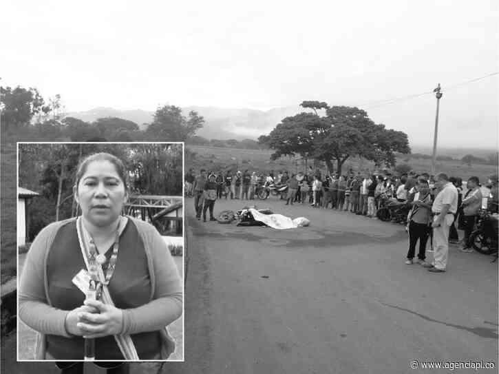Doble asesinato en Corinto, Cauca - Agencia de Periodismo Investigativo